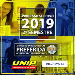 Vestibular UNIP 2019/2