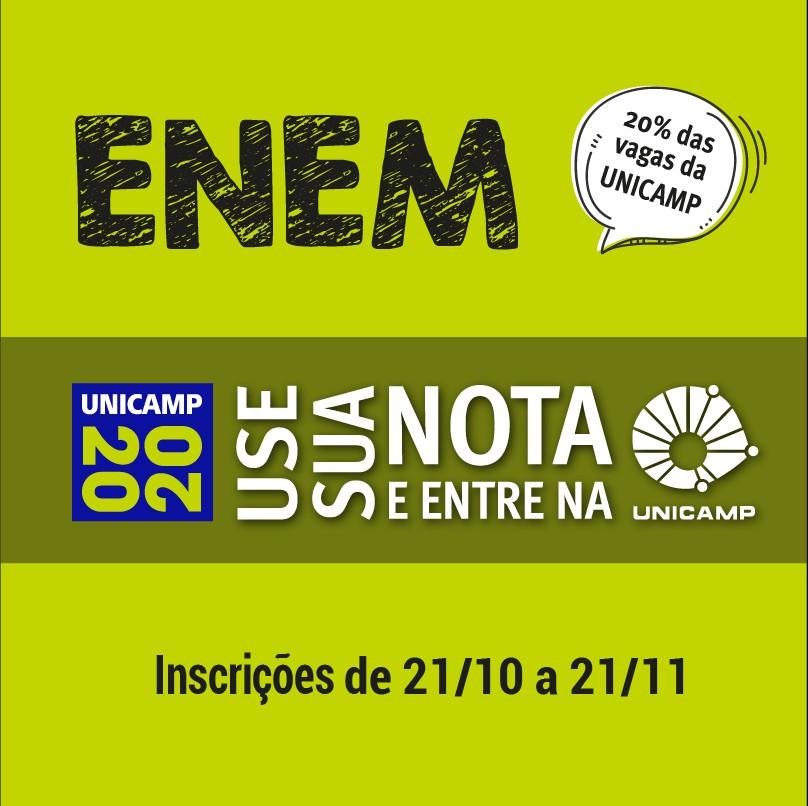 Seleção Enem-Unicamp 2020