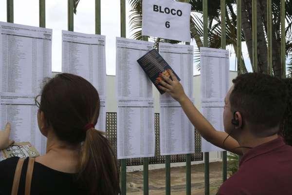 Locais de Prova do Enem 2019 (Imagem - Agência Brasil)