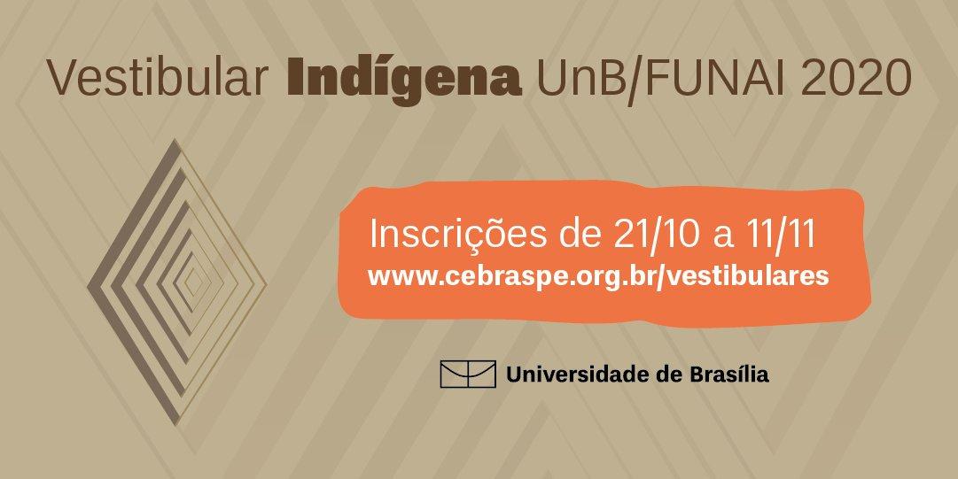 Vestibular Indígena UnB 2020