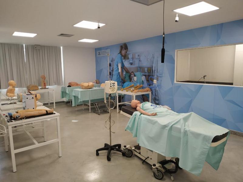 Laboratório de Habilidades e Simulação Realística - Medicina Suprema