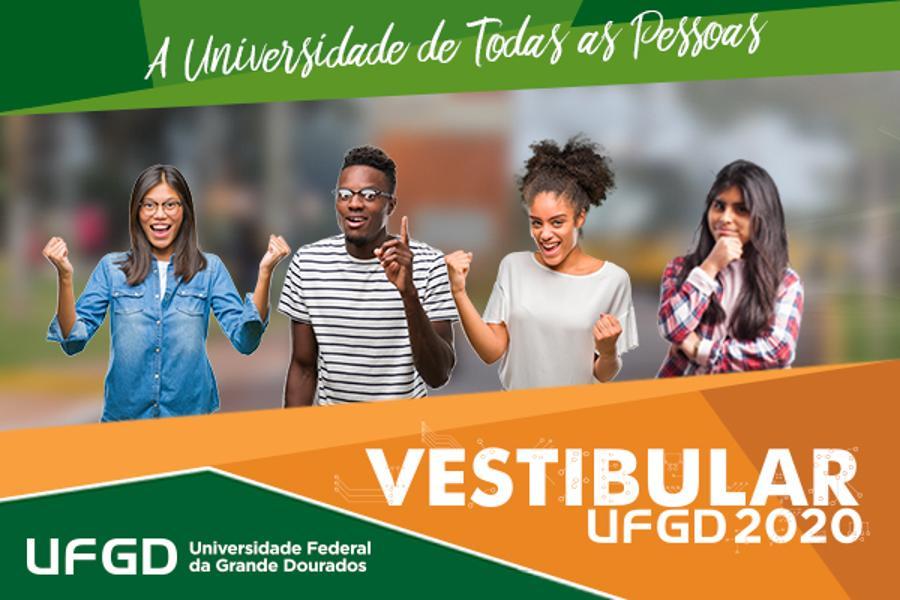 Inscrição do Vestibular UFGD 2020 vai até dia 14 de outubro