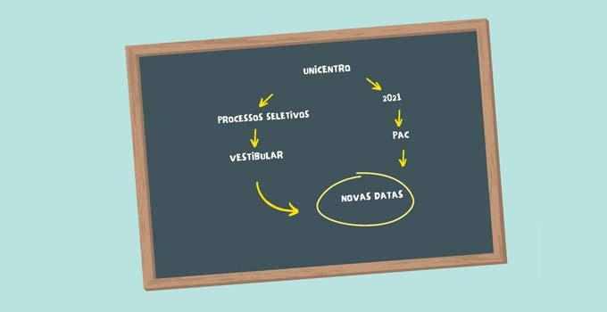 Unicentro divulga novas datas do Vestibular 2020 e do PAC