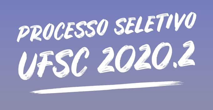 Vestibular UFSC 2020.2 abre inscrições em 13 de outubro