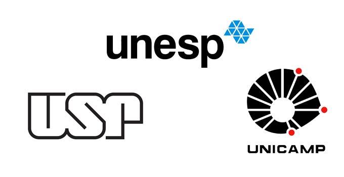 Quais são os cursos mais concorridos na USP, UNESP e Unicamp?