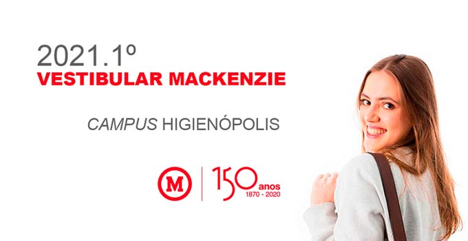 Você sabe quais são os cursos oferecidos no Vestibular Mackenzie - Campus Higienópolis?