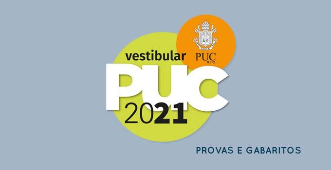 Gabarito Vestibular PUC-Rio 2021 - Prova 25/10