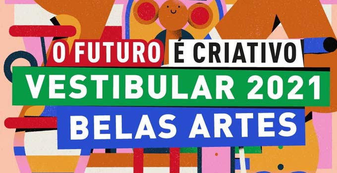 Resultado Vestibular Belas Artes 2021 - Prova 24/10