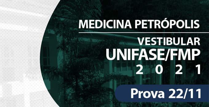 Vestibular Faculdade de Medicina de Petrópolis (UNIFASE/FMP) 2021.