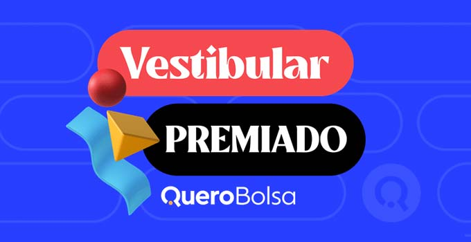 Vestibular Premiado Quero Bolsa dá bolsas de até 100% e vários prêmios