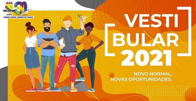 UFRR lança edital do Vestibular 2021 com mais de 780 vagas