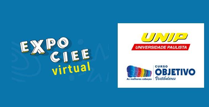 UNIP e Objetivo trarão grandes apresentações na Expo CIEE Virtual