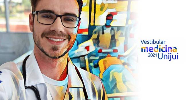 Unijuí tem inscrições abertas para o Vestibular de Medicina 2021