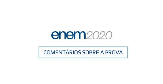 Comentários sobre o primeiro dia do Enem Digital 2020