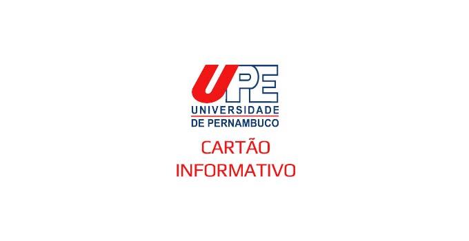 Como imprimir cartão informativo do SSA3 UPE