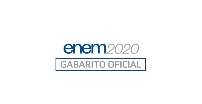 Como ver o gabarito oficial do Enem 2020 - Provas 17 e 24/01/2021