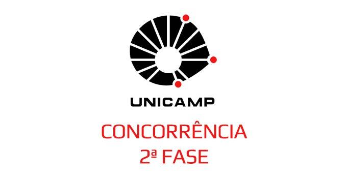 Relação candidatos-vaga na 2ª fase Unicamp
