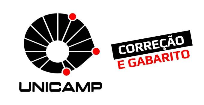 Gabarito e correção do Vestibular Unicamp - 1ªFase - Prova 06/01 e 07/01