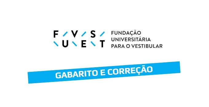 Gabarito e Correção Vestibular Fuvest 2020 - 1ª Fase - Prova 10/01
