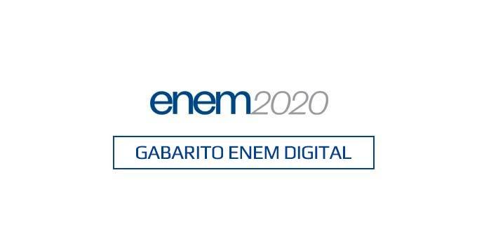 O gabarito extraoficial do Enem Digital 2020 - Prova 31/01/2021 poderá ser conferido ainda hoje, a partir da correção feita pelos professores do Curso Objetivo.