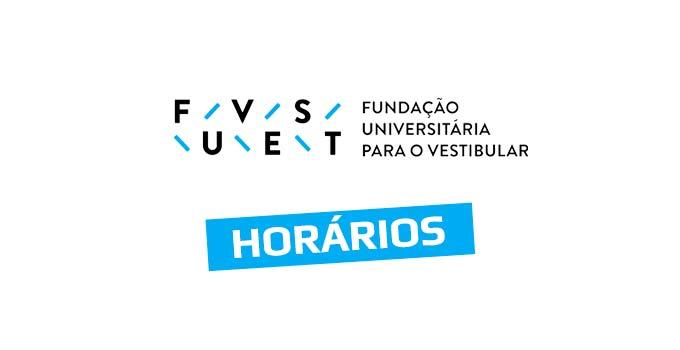 Horários do Vestibular Fuvest 2021 - 1ª Fase - Prova 10/01