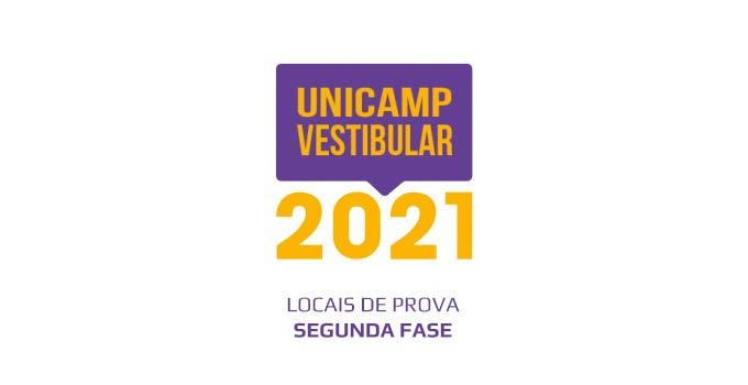 Locais de Prova da 2ª fase do Vestibular Unicamp 2021