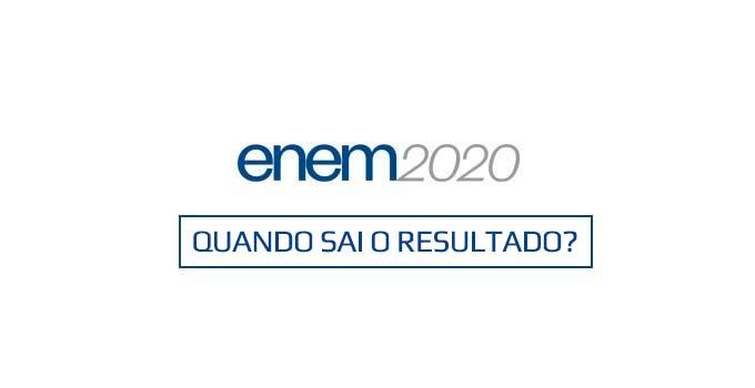 Quando sai o resultado do Enem Digital 2020?