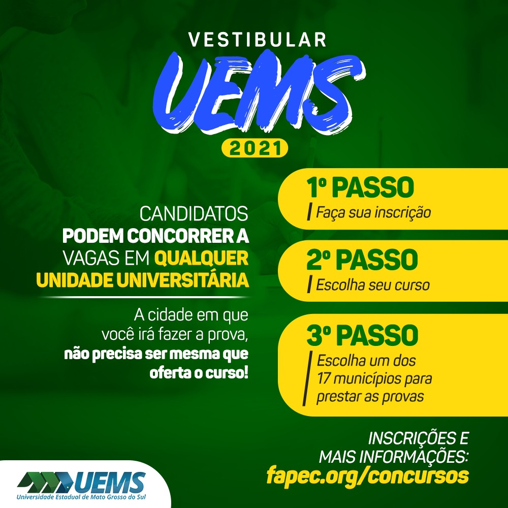 Vestibular UEMS 2021