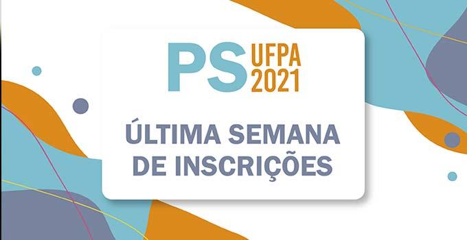 O prazo de inscrição no Processo Seletivo UFPA 2021 encerra-se às 17h do dia 5 de fevereiro de 2021 (sexta-feira).