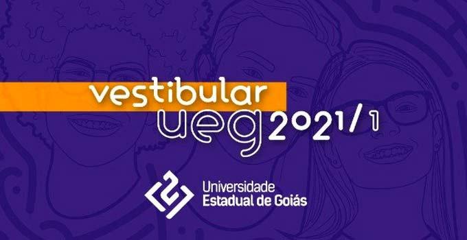 Vestibular UEG 2021/1 encerra inscrições em 23 de fevereiro - prorrogadas até 28/2