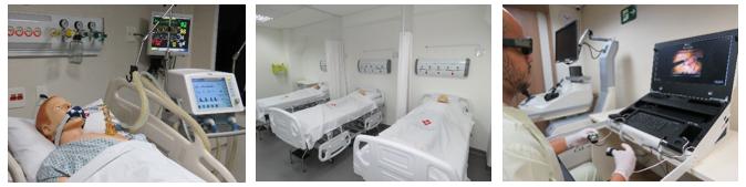A São Camilo conta atualmente com duas unidades do Centro de Simulação, Ipiranga e Pompeia, já o curso de medicina é ministrado apenas no Campus Ipiranga.