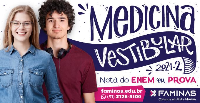Faminas - Vestibular de Medicina 2021/2