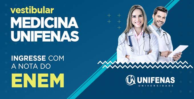 Últimos dias para se inscrever no vestibular de medicina UNIFENAS 2021/2