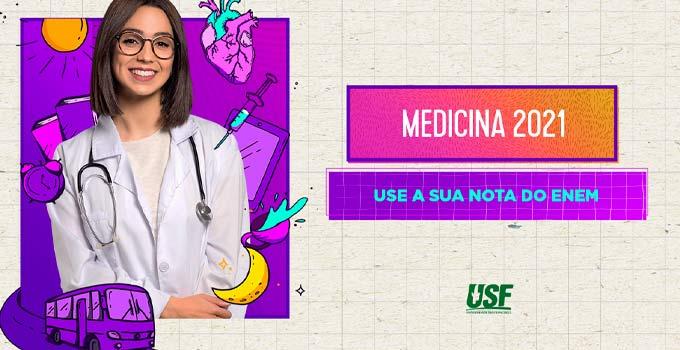 USF está com inscrições abertas para o Vestibular 2021 em Medicina