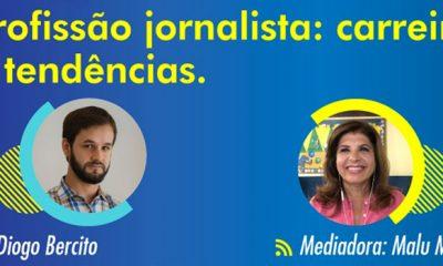 Objetivo apresenta a profissão de jornalista em live com correspondente internacional