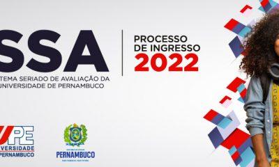 Inscrições SSA UPE 2022