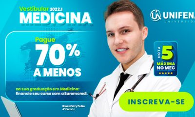 Unifenas abre inscrições para o Vestibular de Medicina 2022
