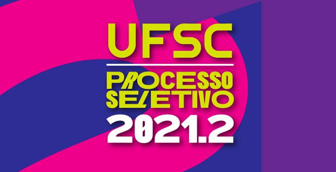 Vestibular UFSC 2021.2 abre inscrições em 16 de julho