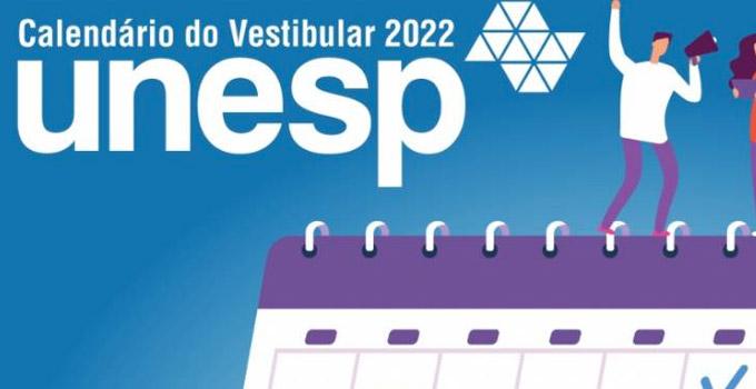 Unesp divulga calendário do Vestibular 2022