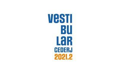 Resultado Final Vestibular Cederj 2021.2 - Prova 25/7