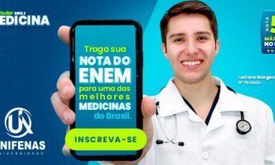 Vestibular de Medicina Unifenas tem inscrições com desconto até 31/8