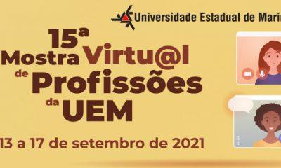UEM promove Mostra de Profissões de 13 a 17 de setembro
