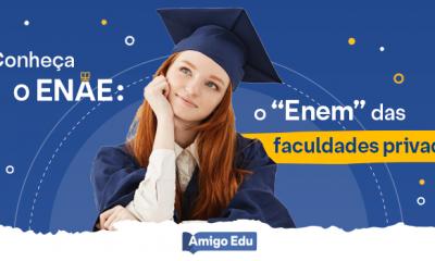 """Conheça o ENAE: o """"Enem"""" das faculdades privadas"""